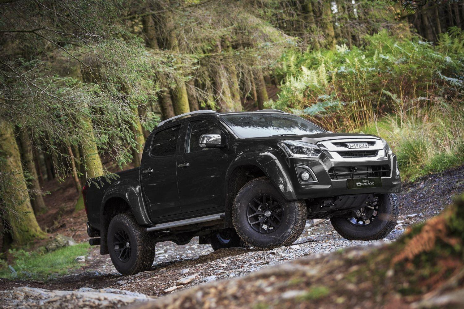 THE NEW ISUZU D-MAX ARCTIC TRUCKS AT35 WILL GO FAR